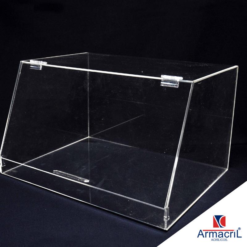 Caixa Acrílico Transparente Guaianases - Caixa de Acrílico Grande
