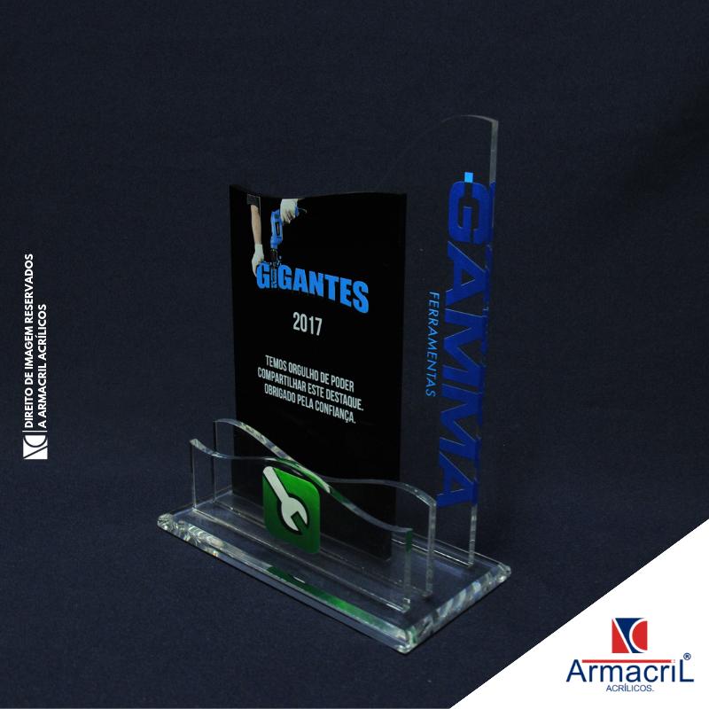Comprar Troféu em Acrílico Personalizado Santa Catarina - Troféu em Acrílico Cristal