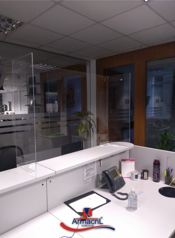 Empresa Que Faz Proteção Acrílico em Balcão Pirituba - Proteção Acrílico Balcão