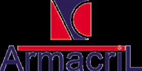 placa em acrílico adesivada - Armacril
