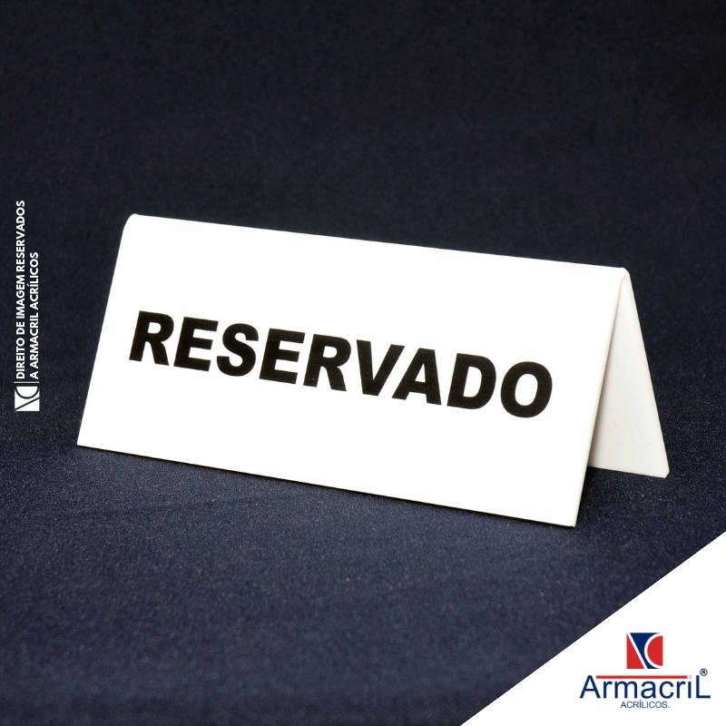 Placas Acrílico Personalizadas Rio Bonito - Placa de Acrílico Transparente