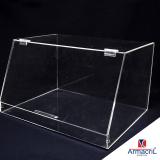 caixa acrílico transparente Jardim Adhemar de Barros