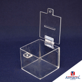 caixa em acrílico transparente Brasilândia