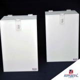 caixa acrílico branca