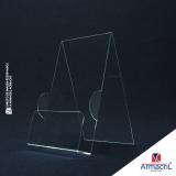 display de chão em acrílico para exposições valor Artur Alvim