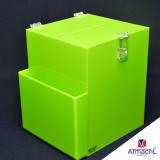 loja para comprar urna de acrílico personalizada Rio Bonito