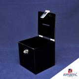 loja para comprar urna de acrílico quadrada Jabaquara