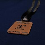 medalha personalizada de acrílico