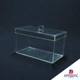 onde comprar caixa em acrílico transparente Tucuruvi