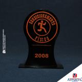 onde comprar troféu acrílico redondo Cidade Tiradentes