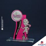 onde comprar troféu em acrílico personalizado Jardim das Acácias