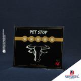 placa acrílico cristal
