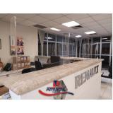 proteção para balcão de acrílico valor Vila Pirituba