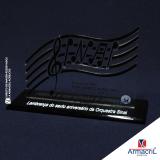 troféu em acrílico cristal melhor preço Parque do Chaves