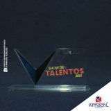 troféus acrílico com led Campo Belo