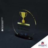 troféus de acrílico para personalizar Vila Dila