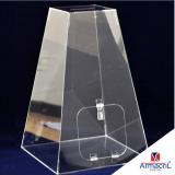 urna acrilica grande preço Pompéia
