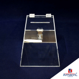 urna acrílico transparente preço Interlagos