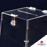 urna em acrílico cristal preço Água Rasa