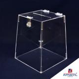 urnas acrílico transparentes Água Espraiada