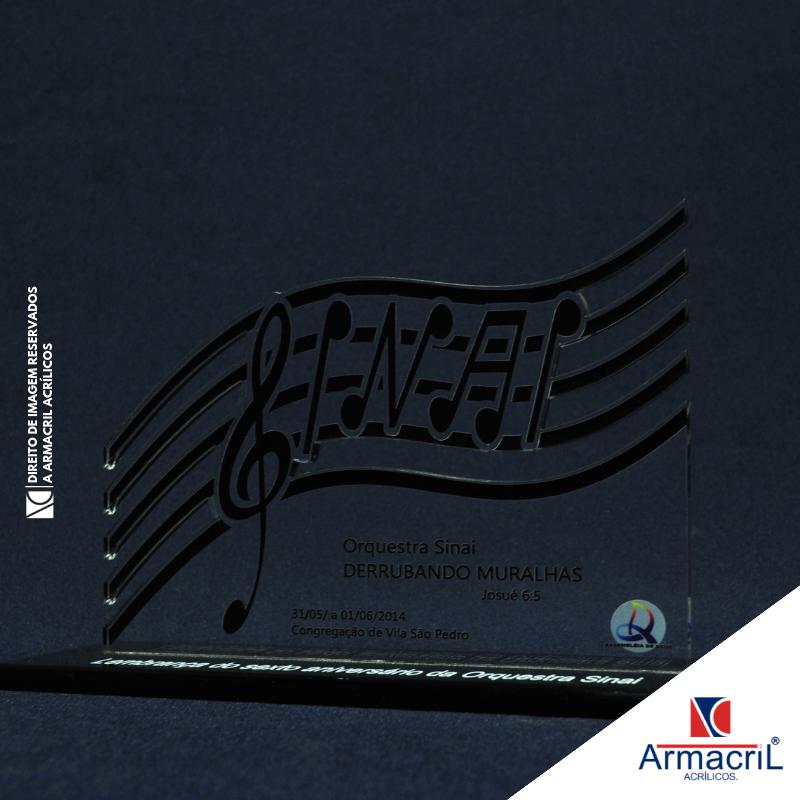Troféu Placa Acrílico Melhor Preço Instituto da Previdência - Troféu em Acrílico Cristal