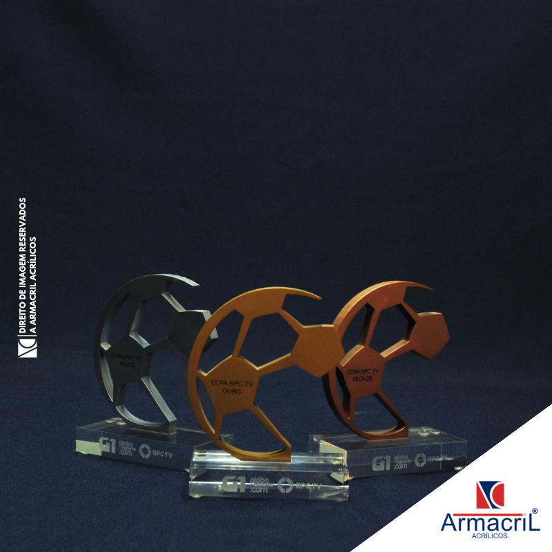Troféus de Acrílico Personalizados Lauzane Paulista - Troféu em Acrílico Cristal