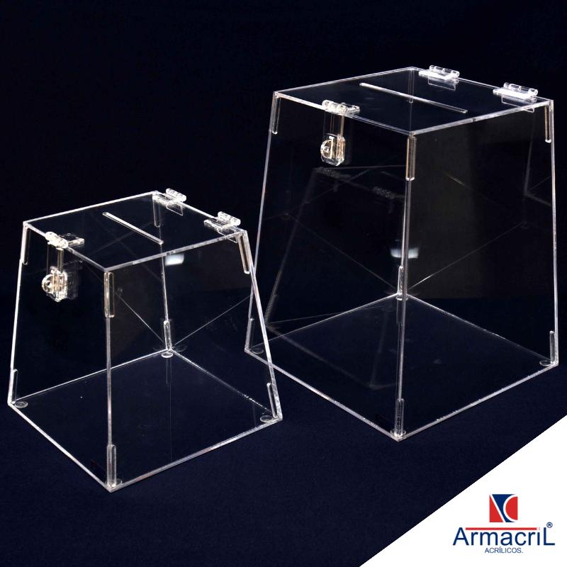 Urna em Acrílico para Sorteio Preço Cachoeirinha - Urna em Acrílico Cristal